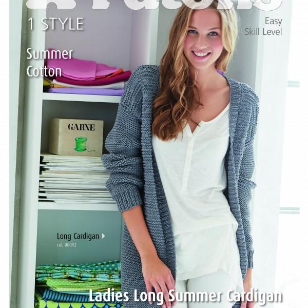 Patons Long Summer Cardigan (4082) – Lady Sew & Sew Knits