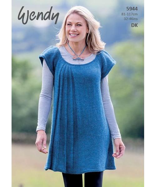 Wendy Ramsdale DK 5944   Lady Sew & Sew Knits