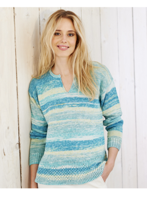 9366 jumper & cardigan pattern front