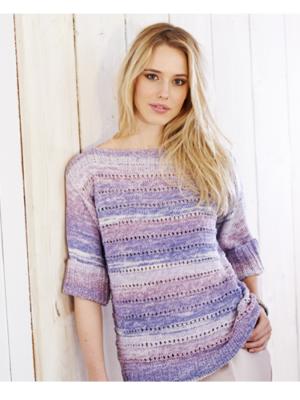 9367 jumper & sweater pattern front