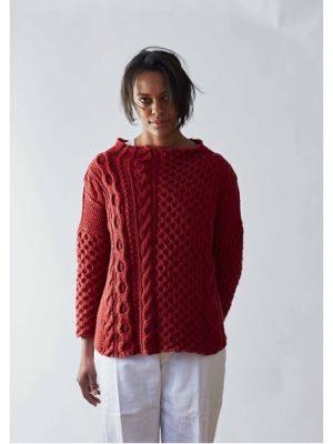 gossypium cotton CARAVAN pattern front