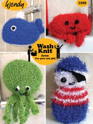 Wendy washknit fish