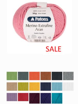 Patons Merino Aran