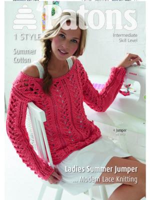 Patons Summer Cotton Lady Sew Amp Sew Knits