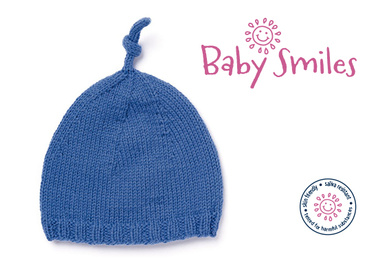 FREE Patons baby smiles hat Pattern – Lady Sew & Sew Knits
