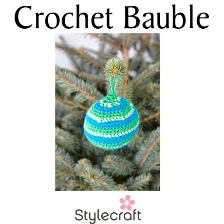 Crochet Bauble Image