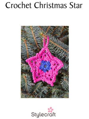 Crochet Star pattern image