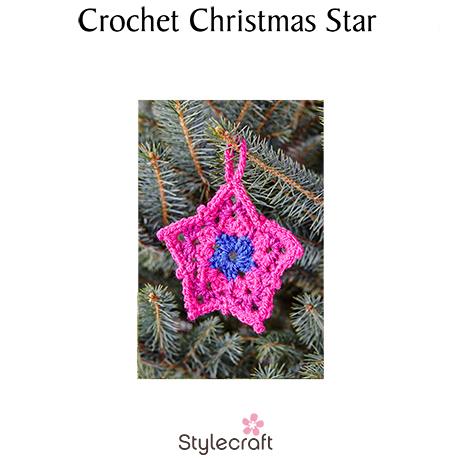 Free Christmas Decoration Pattern Star Lady Sew Sew Knits