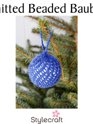 Knitted Beaded Bauble Free Patterns