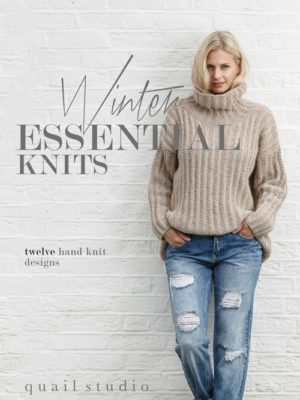 Winter Essential Knits - Cover