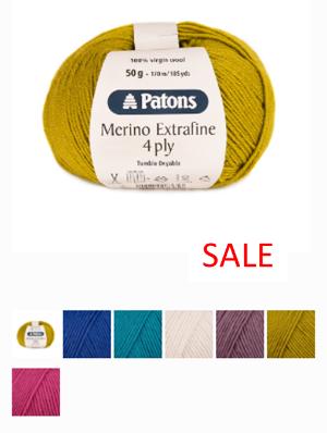 Patons 4ply Merino Extrafine