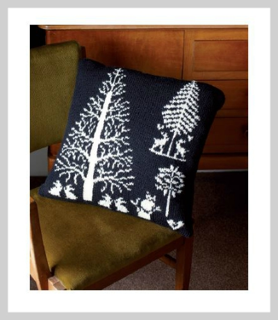 Rowan Enchanted Forest Cushion