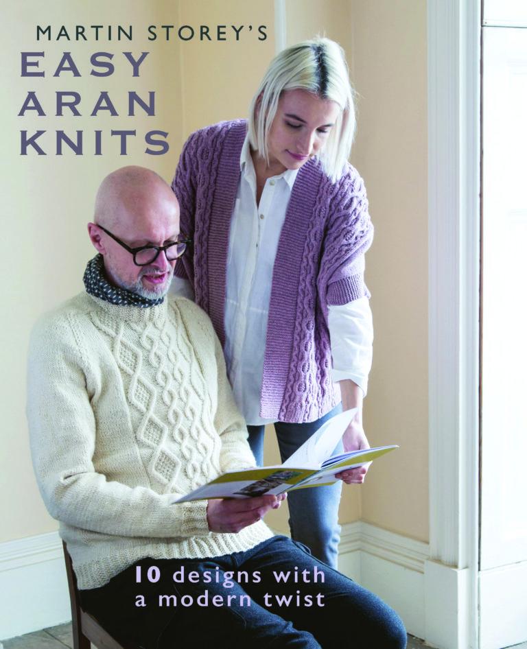 Easy Knit Arans Martin Storey