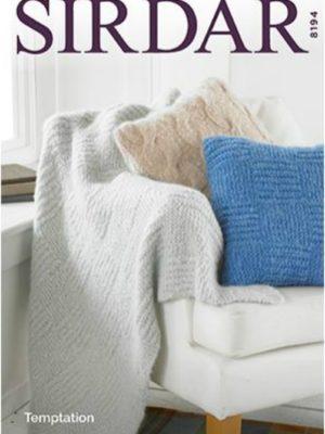 Sirdar 8194 Home accessories