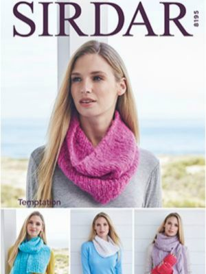 Sirdar 8195 Gloves and Hand Accessories, Scarves, Snoods and Cowls