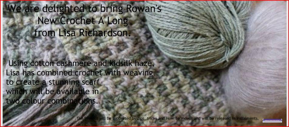 crochet a long blank