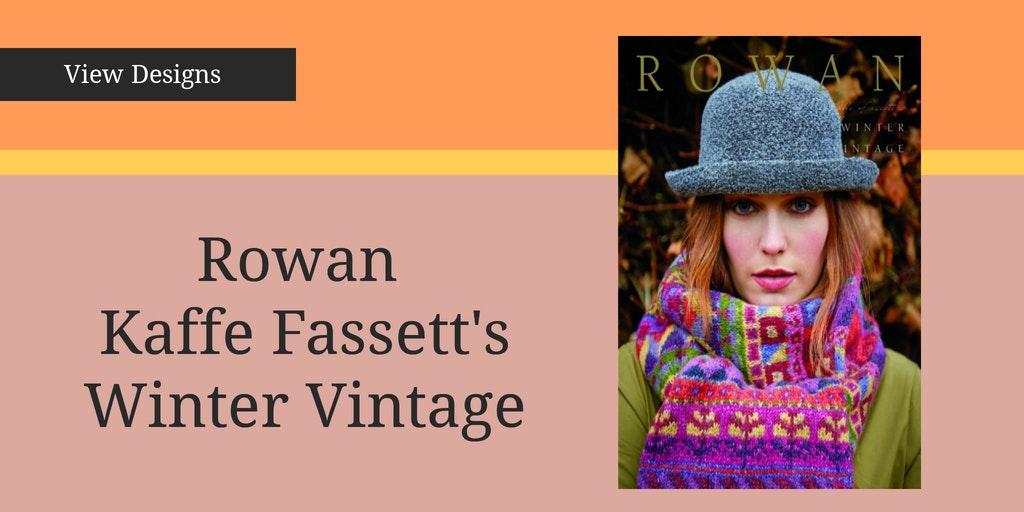 Rowan Kaffe Fassett winter vintage