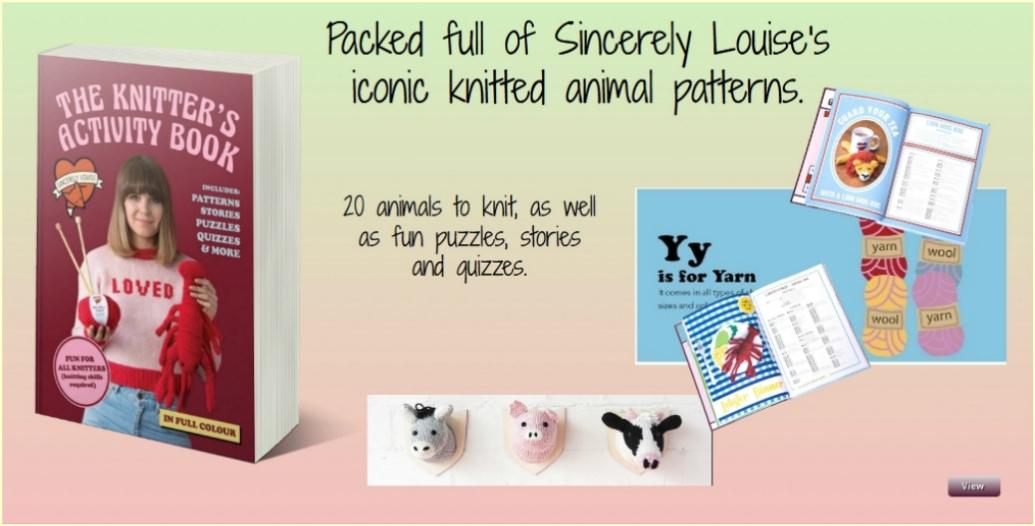 A Knitter's Activity Book