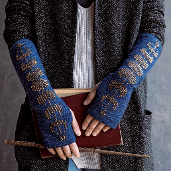 12 Hogwarts Dueling Club Fingerless Mitts Twelve