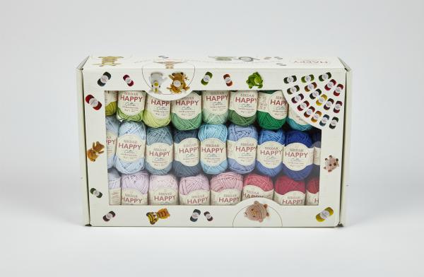 Happy Box ~ Fifty Happy Cotton Colours