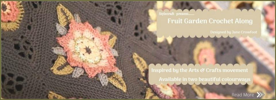 Fruit garden Crochet Along banner