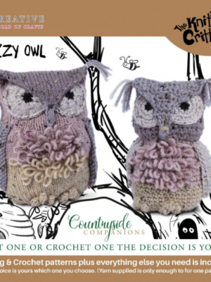 Countryside Companions KC601-Ozzy Owl