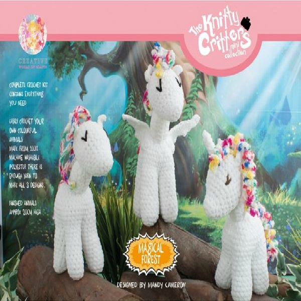 Knitty Critters kc556-Magical Forest