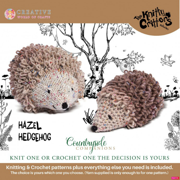 Countryside Companions KC600-Hazel Hedgehog